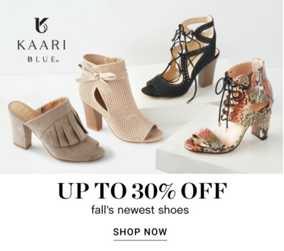 Up to 30% off Fall's Newest Shoes - Shop Now