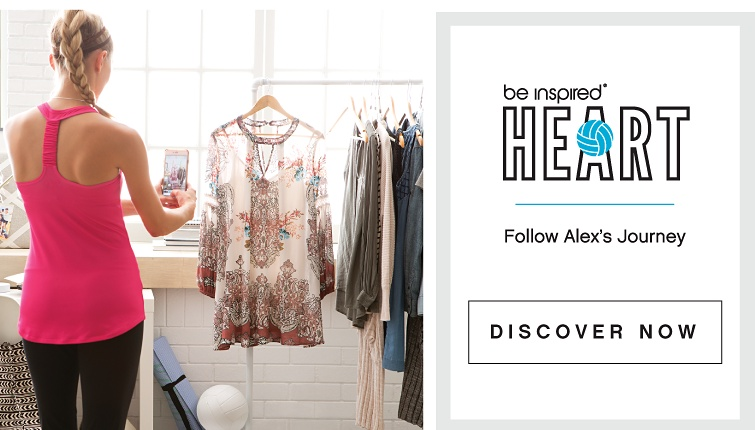 be inspired® HEART - Follow Alex's Journey - DISCOVER NOW