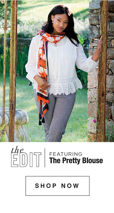 the Edit - featuring The Pretty Blouse - SHOP NOW