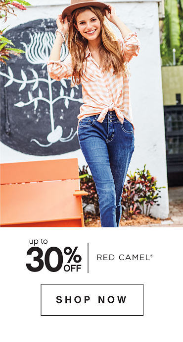 Up to 30 percent off Red Camel. Shop Now.