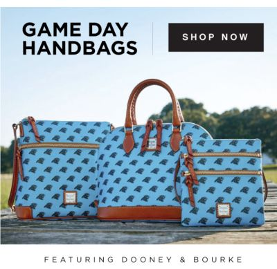 GAME DAY HANDBAGS | SHOP NOW | FEATURING DOONEY & BOURKE