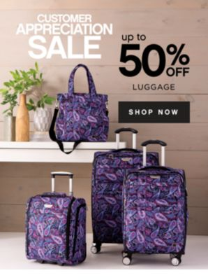 CUSTOMER APPRECIATION SALE | up to 50% OFF LUGGAGE | SHOP NOW