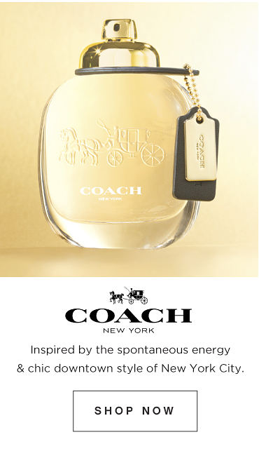 Coach - Inspired by the spontaneous energy & chic downtown style of New York city. Shop now.