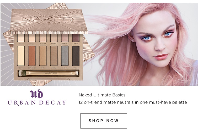 Urban Decay - Naked Ultimate Basics - 12 on-trend matte neutrals in one must-have palette. Shop now.