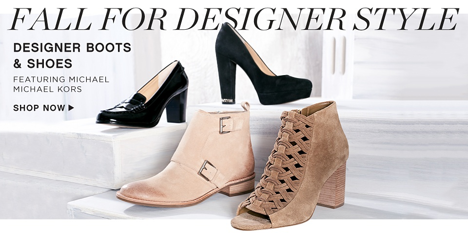 Fall for Designer Style - Designer Boots & Shoes featuring Michael Michael Kors - Shop Now