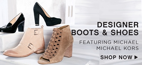 Designer Boots & Shoes featuring Michael Michael Kors - Shop Now