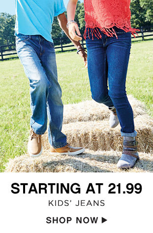 Starting at 21.99 Kids' Jeans - Shop Now