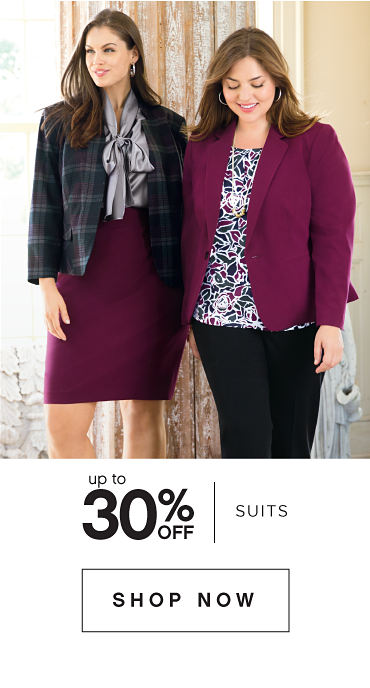 up to 30% Suits - SHOP NOW