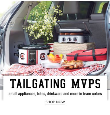 Tailgating MVPS - Small Appliances, Totes, Drinkware and more in Team Colors - Shop Now