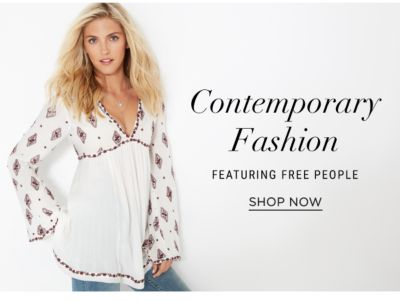 contemporary featuring free people