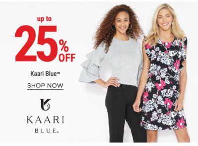 up to 25% off Kaari Blue