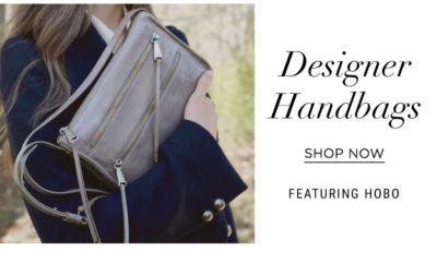 designer handbags featuring hobo