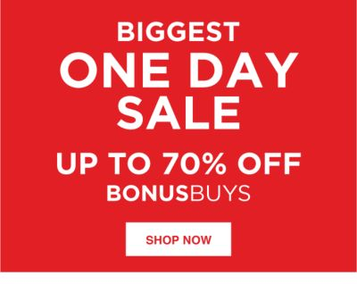 biggest one day sale
