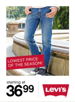 Levi's Starting at $36.99
