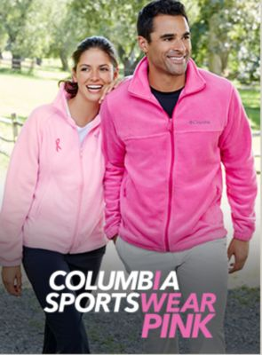 Columbia Sports Wear Pink