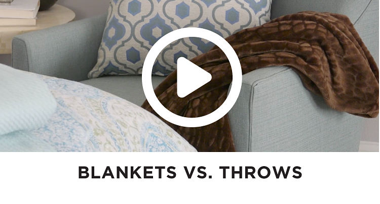 Blankets VS. Throws