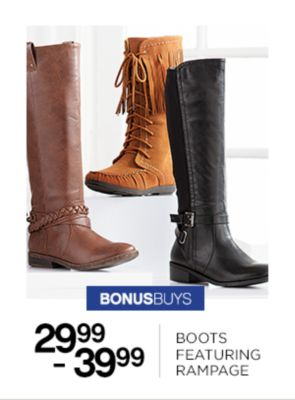 Boots Featuring Rampage