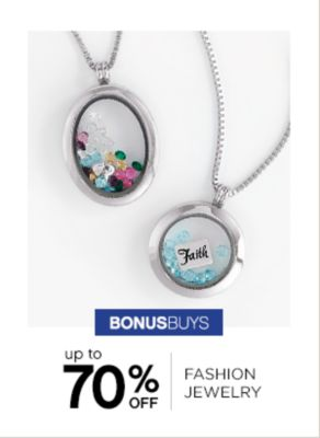 Up to 70% off Fashion Jewelry