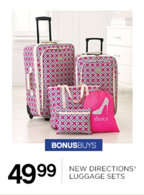 49.99 New Directions Luggage Sets