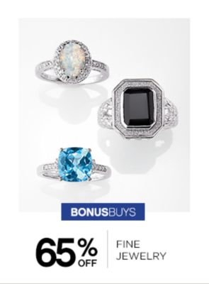 65% off Fine Jewelry