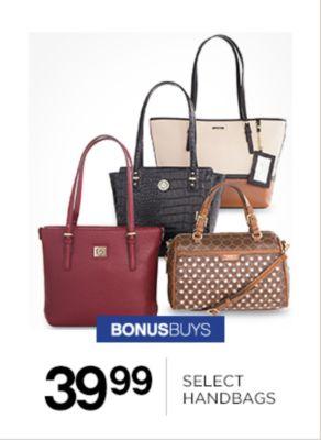 39.99 Select Handbags