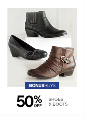 50% Off Shoes And Boots