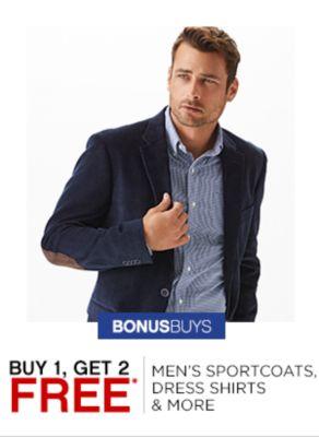 Buy 1 Get 2 Free Mens Tops
