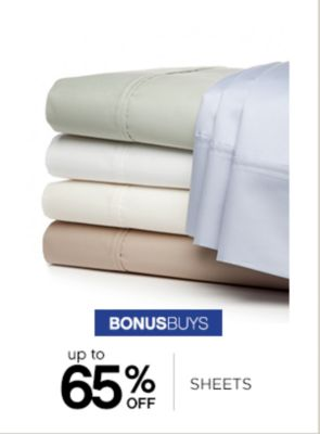 Up to 65% Off Sheets
