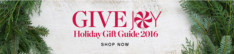 Give Joy | Holiday Gift Guide 2016 | shop now