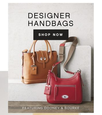 DESIGNER HANDBAGS | SHOP NOW | FEATURING DOONEY & BOURKE