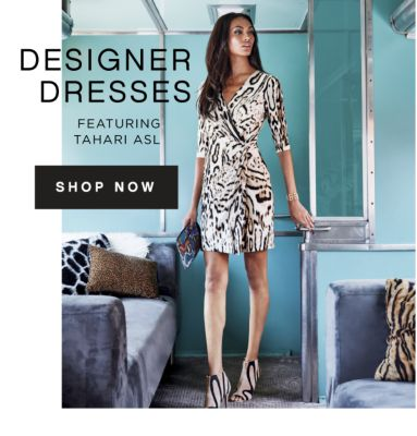 DESIGNER DRESSES FEATURING TAHARI ASL | SHOP NOW