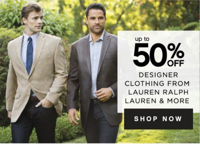 up to 50% OFF DESIGNER CLOTHING FROM LAUREN RALPH LAUREN & MORE | SHOP NOW