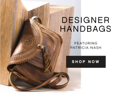 DESIGNER HANDBAGS | FEATURING PATRICIA NASH | SHOP NOW