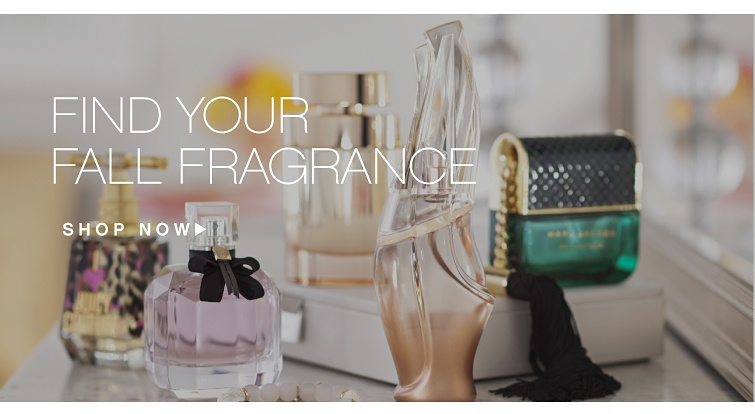 Find Your Fragrance. Shop now.