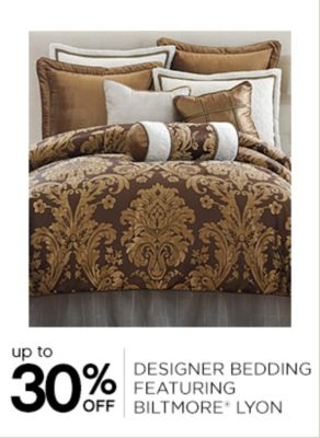 Up to 30% Off Designer Bedding
