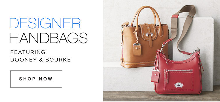 Designer Handbags featuring Dooney & Bourke Shop Now