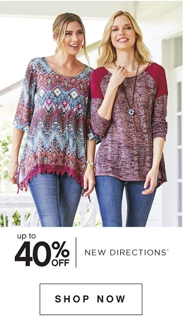 up to 40% off - New Directions® - SHOP NOW