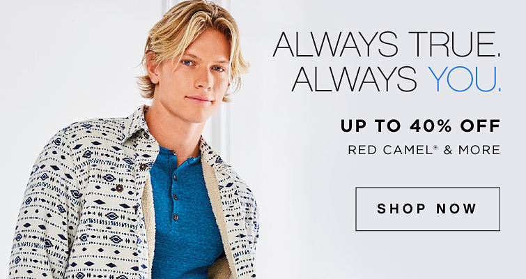 Always true, always you. Up to 40% off Red Camel registered trademark and more. Shop now