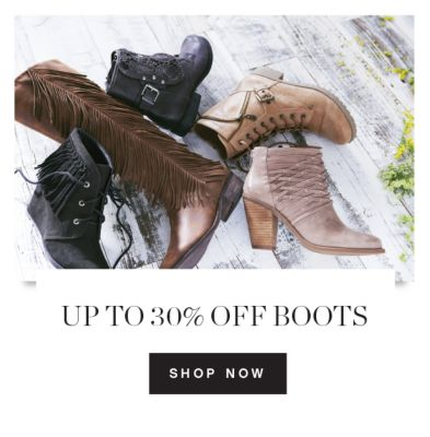 FOOTWEAR FRENZT | UP TO 30% OFF BOOTS | SHOP NOW