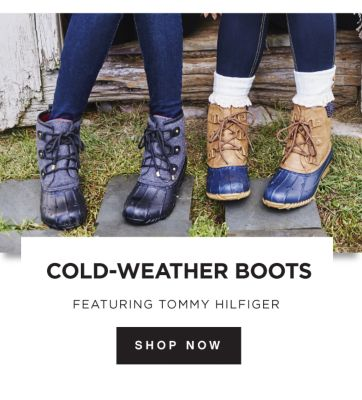 COLD-WEATHER BOOTS | FEATURING TOMMY HILFIGER | SHOP NOW