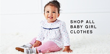 Shop All Baby Girl Clothes.