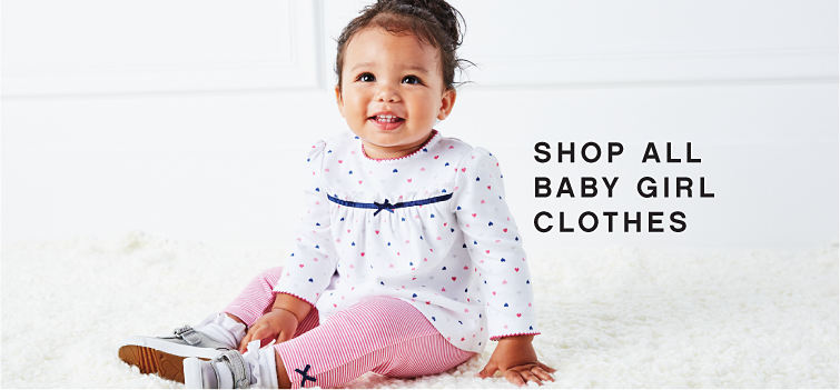 Shop All Baby Girl Clothes.
