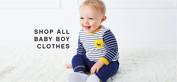 Shop All Baby Boy Clothes.
