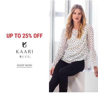 Up to 25% off Kaari Blue™. Shop Now.
