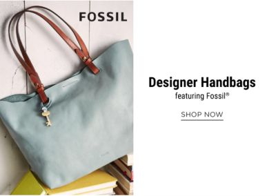 Designer Handbags, featuring Fossil®. Shop Now.