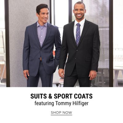 Suits & Sport Coats, featuring Tommy Hilfiger. Shop Now.