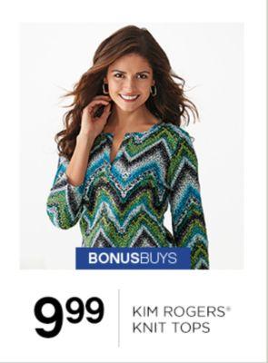 9.99 Kim Rogers Knit Tops