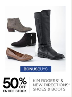 50% Off Kim Rogers New Directions Shoes &Boots