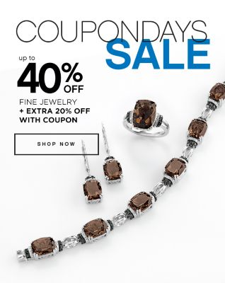Coupon Days Sale Up to 40% Off Fine Jewelry