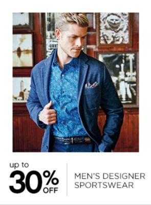 Up to 30% Off Mens Designer Sportswear